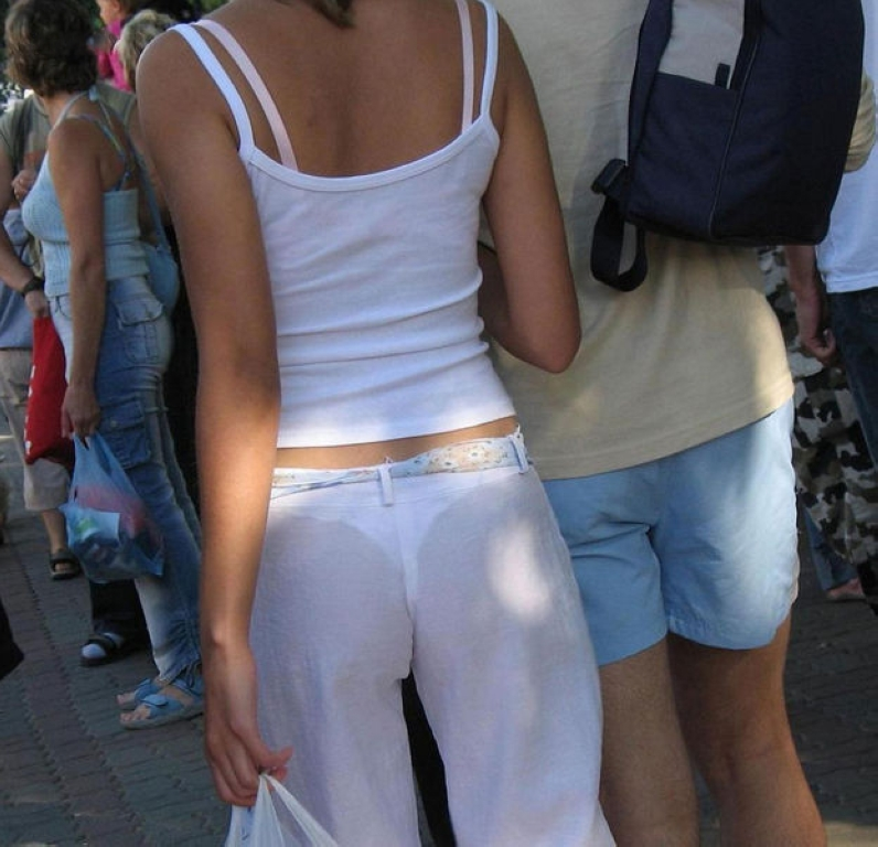See thru pants from ClayPotzz