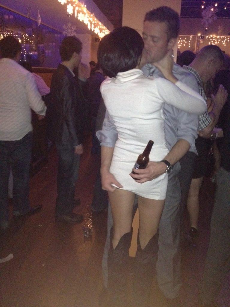 ass grabbing