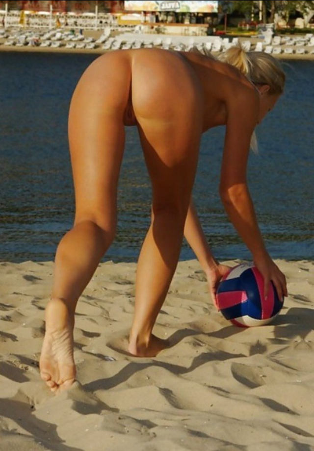 Very tight volleyball nude pics think, that
