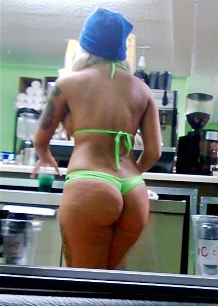First Ava bikini coffee everett ass Omg