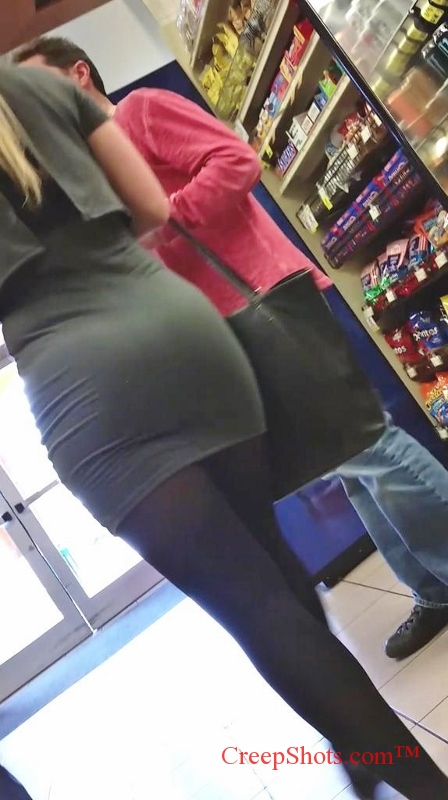 candid tight ass in tight skirt